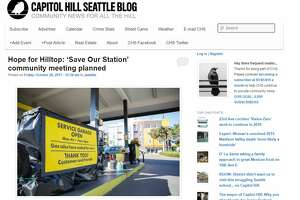 The homepage of Capitol Hill Seattle on Friday, Oct. 20, 2017.