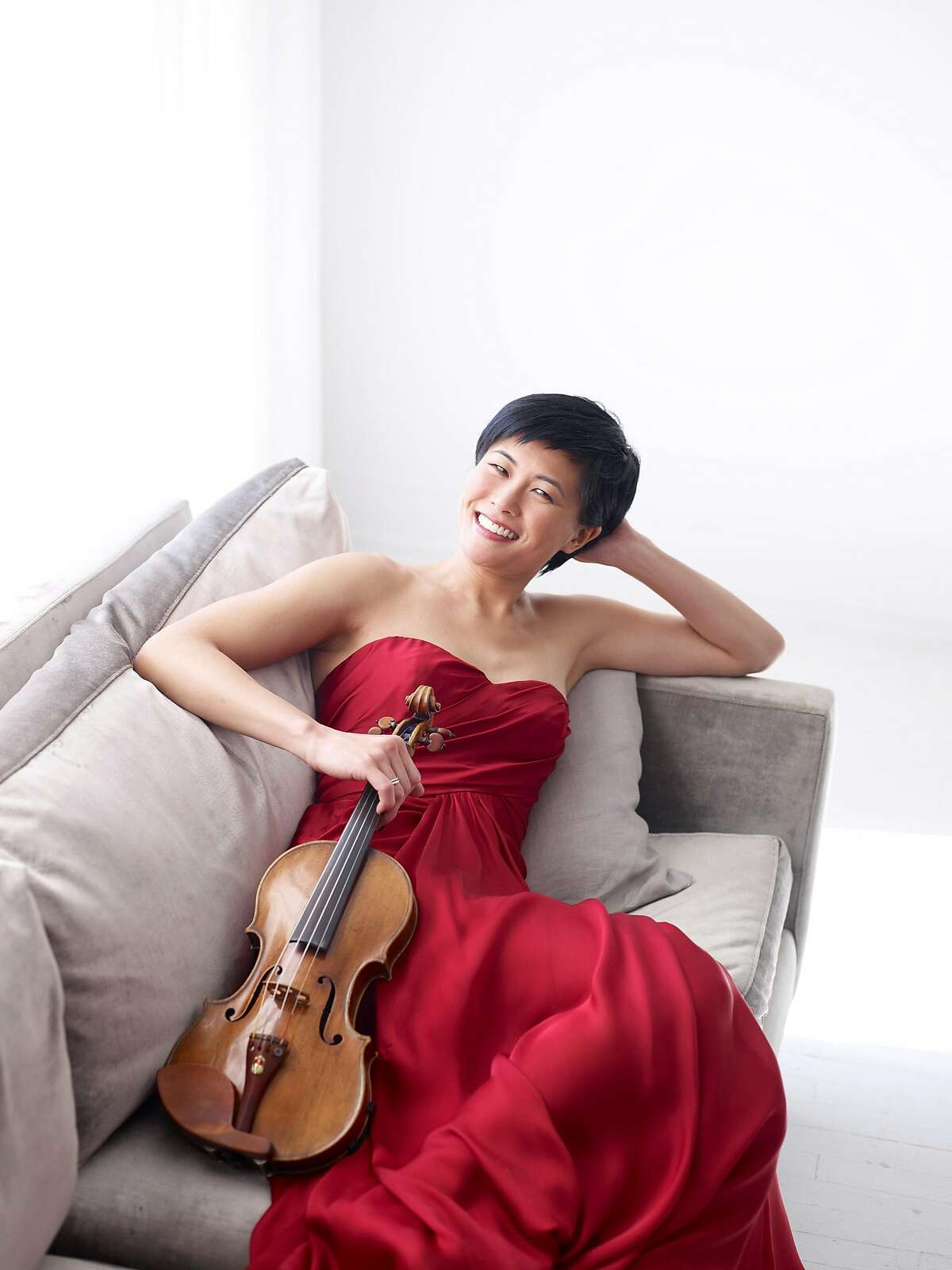 Violinist Jennifer Koh will perform with the San Antonio Symphony. JENNIFER KOH - violinist