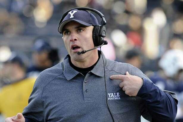 Yale head coach Tony Reno.