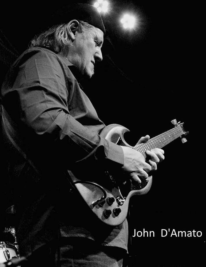 Blues-rock guitar slinger John D'Amato, who plays on Sunday, Oct. 22, 2017 at Cafe Nine in New Haven, may work these days out of Nashville and Memphis, but he cut his teeth in New Haven and East Haven. Photo: Contributed Photo / John D'Amato /