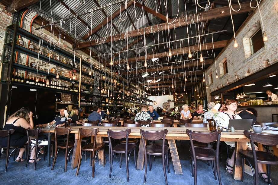 Bread in Common is a popular eatery in an old warehouse in Fremantle. Photo: James Hutchison, Special To The Chronicle