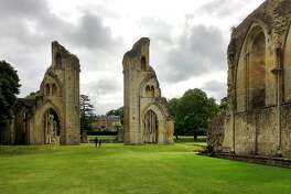 The evocative ruins of Glastonbury Abbey, the first Christian sanctuary in the British Isles, still feel mysteriously alive amid lush parkland.