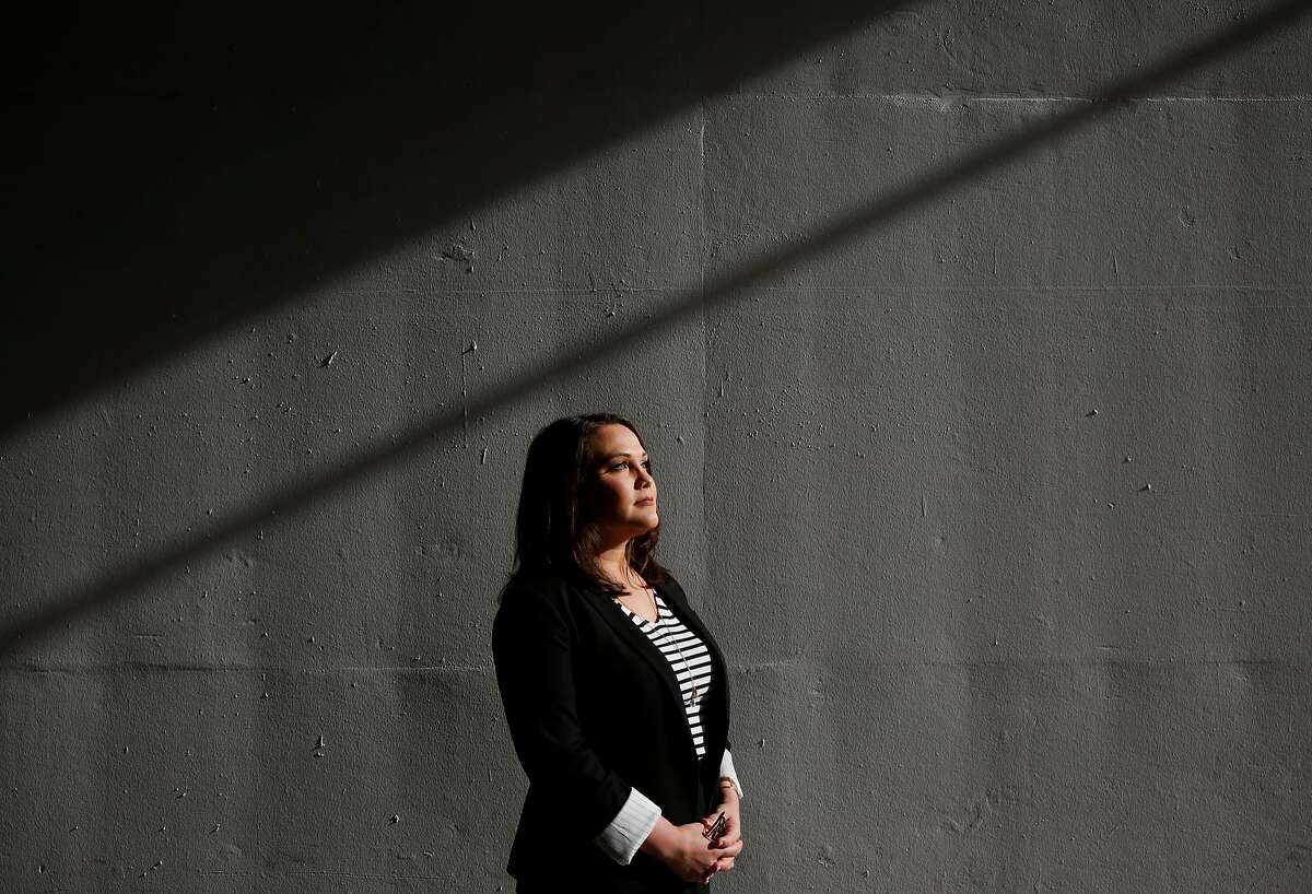 Lobbyist Pamela Lopez poses for a portrait Oct. 20, 2017 in San Francisco, Calif.