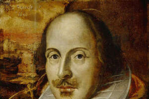 This picture released by Britain's National Portrait Gallery shows The Flower Portrait of William Shakespeare. Experts at Britain's National Portrait Gallery said Thursday, April 21, 2005,  they have concluded that one of the most well-known portraits of William Shakespeare is a fraud, painted more than 200 years after he died. Many experts had long suspected that the work, known as the Flower portrait, was done much later than 1609, which is the date painted on it. (AP Photo/ National Portrait Gallery/HO)   ** EDITORAL USE ONLY NO SALES **