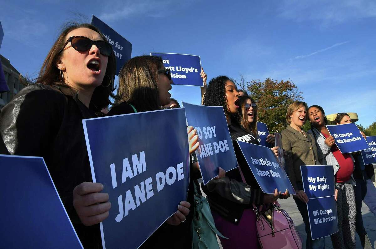 The Planned Parenthood Federation of America and coalition partners protested together Friday outside the Department of Health and Human Services in support of