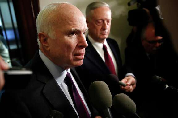 Sen. John McCain is pushing for briefings on military operations after the Niger ambush.