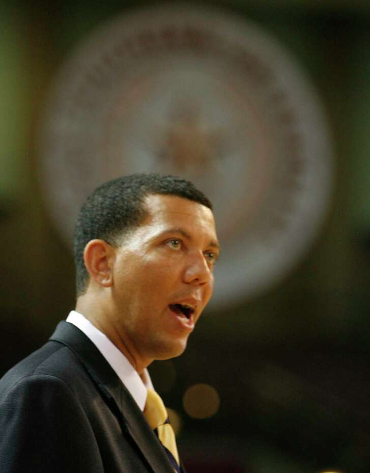 Texas Southern University's new athletic director Charles McClelland Friday, June 6, 2008, in Houston.  ( James Nielsen / Chronicle )
