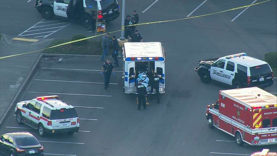 An undercover operation to bust an illegal gun seller turned into a shootout in Kent on Friday evening. Photo: KOMO News