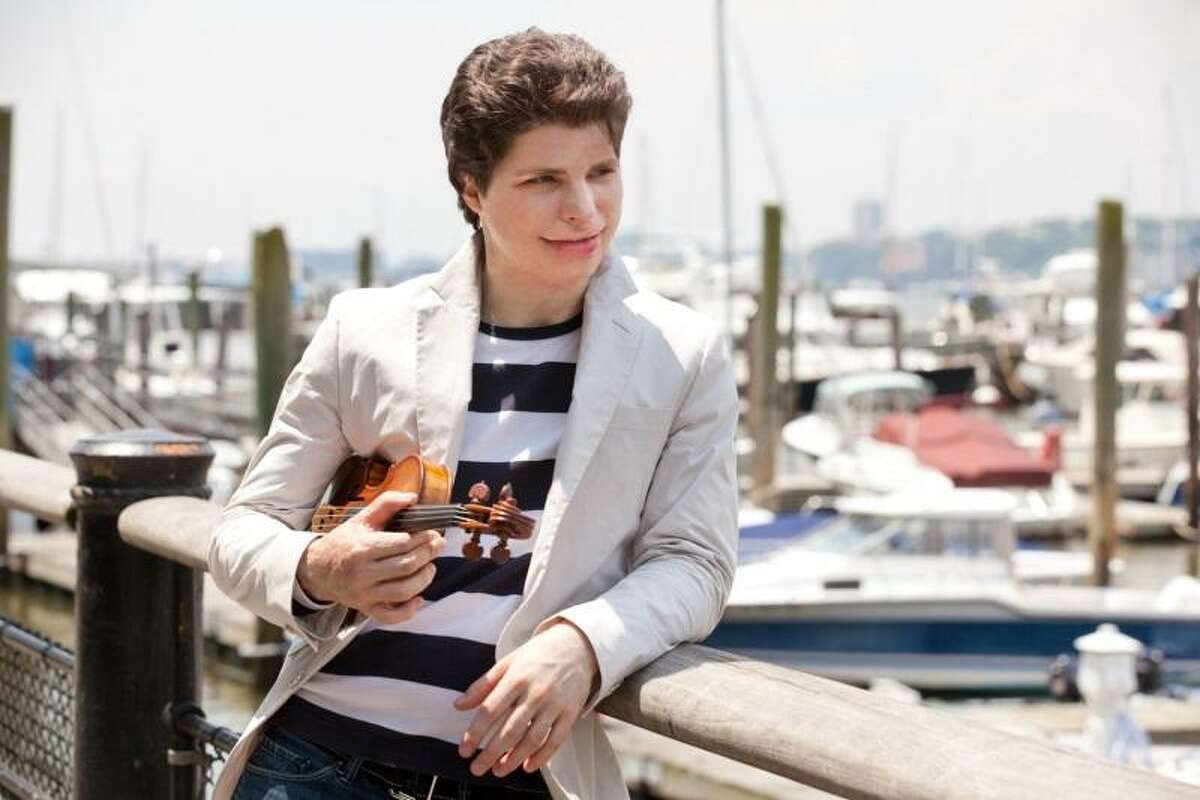 """Violinist Augustin Hadelich performed the Tchaikovsky """"Violin Concerto"""" on Friday night with the San Antonio Symphony."""