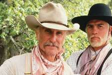 """Robert Duvall, left, and Tommy Lee Jones co-star in the 1989 adaptation of Larry McMurtry's """"Lonesome Dove."""""""