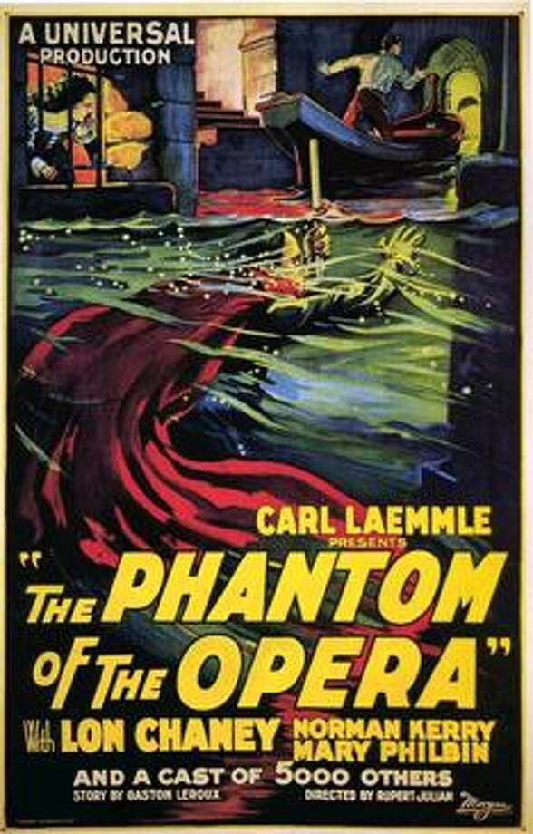 "The Waterbury Symphony Orchestra celebrates Halloween with a showing of the 1925 silent film, Lon Chaney's ""Phantom of the Opera,"" accompanied by music performed by the orchestra. Photo: WSO / Contributed Photo"