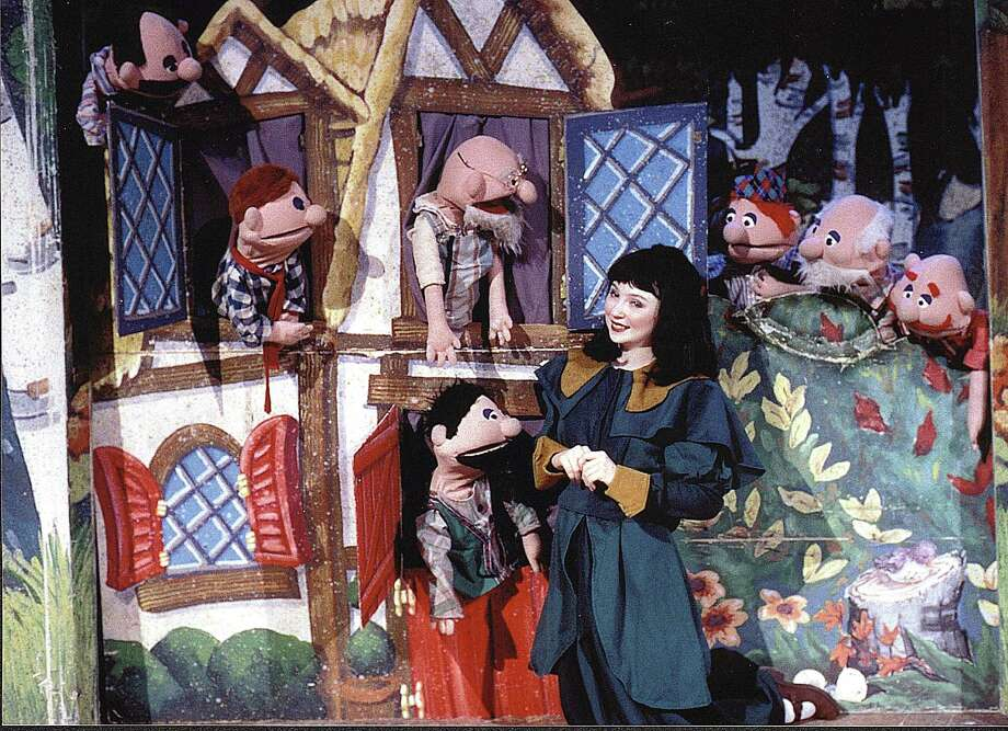 """Virginia Rep brings """"Snow White and The Seven Dwarfs"""" to the Ridgefield Playhouse stage on Saturday, Oct. 28, for two performances. The children's performance is a musical adaptation of the classic Grimm's fairy tale with actors and puppets. Photo: Virginia Rep / Contributed Photo"""
