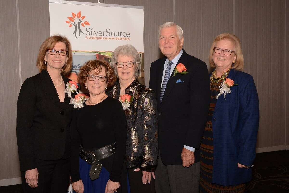 Caption: Left to Right: Denise Cesareo, ElderHouse, Roni Lang, Greenwich Hospital-Yale New Haven Health; Pat Knebel, Southwest Connecticut Agency on Aging, Jim Lisher, I-Step, New Canaan and Kathleen Bordelon, Executive Director, SilverSource