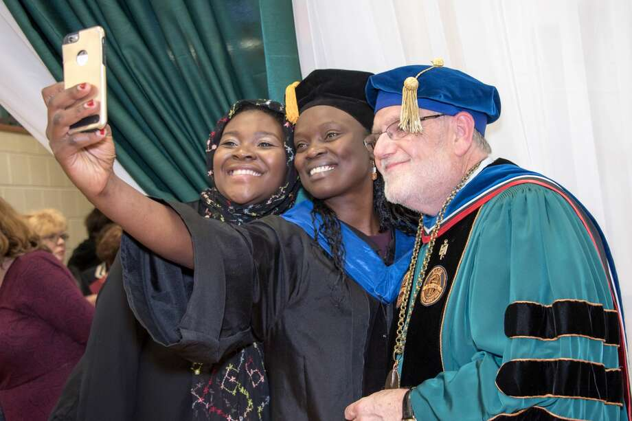Were  you Seen at the inauguration of The Sage Colleges President Christopher  Ames at Schact Fine Arts Center on the Russell Sage College campus in  Troy on Oct. 20,  2017? Photo: Tamara Hansen