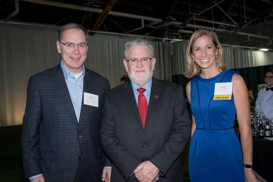 Were  you Seen at The Sage Colleges' inauguration reception and distinguished  donor event at The Armory at Sage College of Albany on Oct. 20, 2017?  Photo: Tamara Hansen