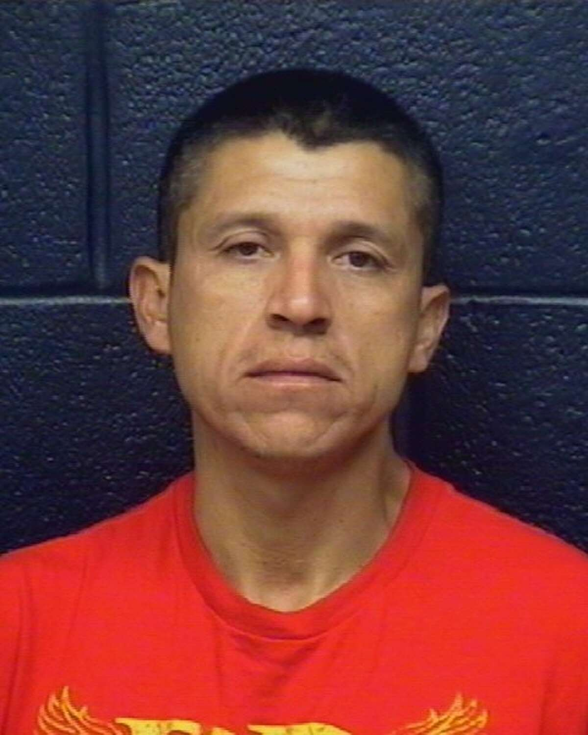 Authorities served arrest warrants on Omar Campos Zamora, 34, on Friday charging him with burglary of a building and theft.