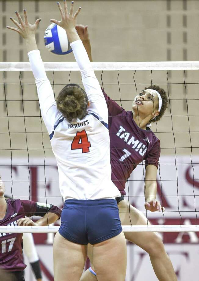 Texas A&M International's Panebi Shirey and the Dustdevils host Newman on Thursday at 7 p.m. Photo: Danny Zaragoza /Laredo Morning Times File