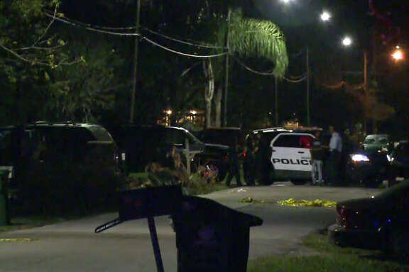 Three people were hospitalized following an overnight shooting.