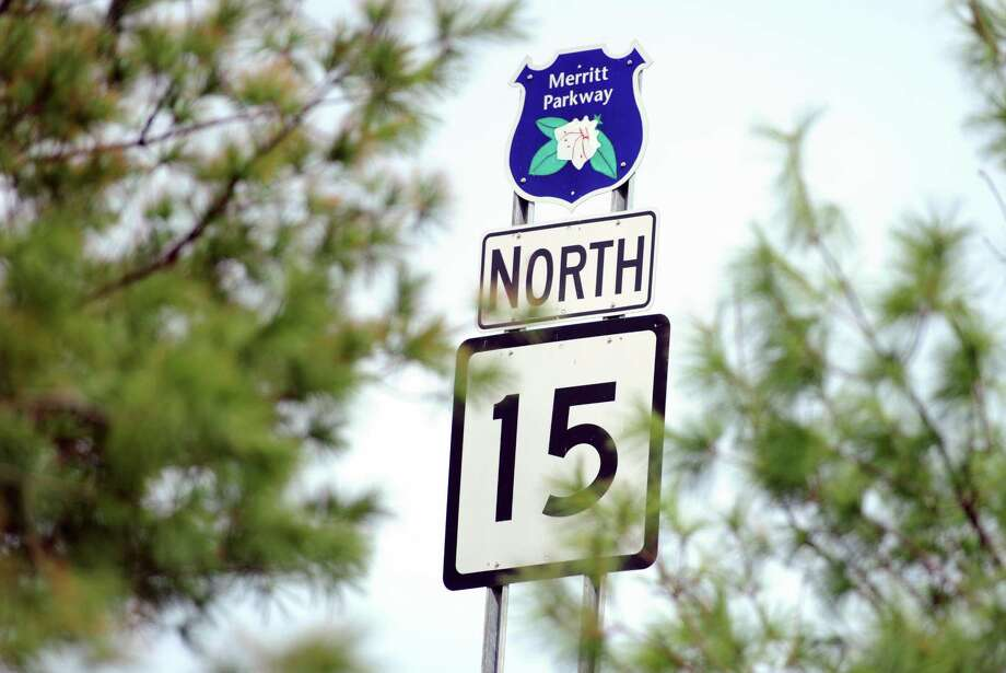 File photo of the Route 15 Northbound sign. Photo: Autumn Driscoll / Hearst Connecticut Media / Connecticut Post