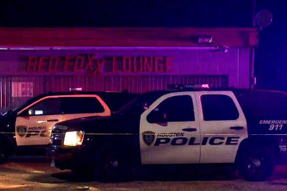 A man was found shot to death outside a Houston night club.