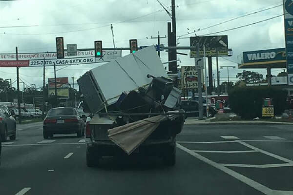 A Facebook user recently captured another example of bad driving in San Antonio.