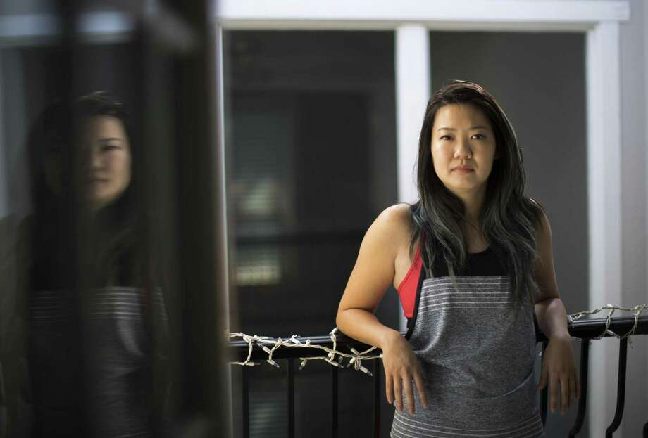 """Stephanie Chen, 33, believes the """"Me Too"""" movement is a painful but necessary conversation to have to de-stigmatize speaking out about sexual assault. Wednesday, Oct. 18, 2017, in Houston. ( Marie D. De Jesus / Houston Chronicle ) Photo: Marie D. De Jesus / Houston Chronicle / © 2017 Houston Chronicle"""