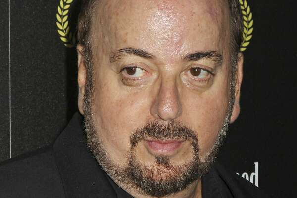 """FILE - In this Oct. 24, 2013 file photo, director James Toback attends the HBO premiere of """"Seduced and Abandoned"""" at The Time Warner Center in New York. Toback has been accused of sexual harassment by more than 30 women in a report published Sunday, Oct. 22, 2017, in The Los Angeles Times. (Photo by Greg Allen/Invision/AP, File)"""