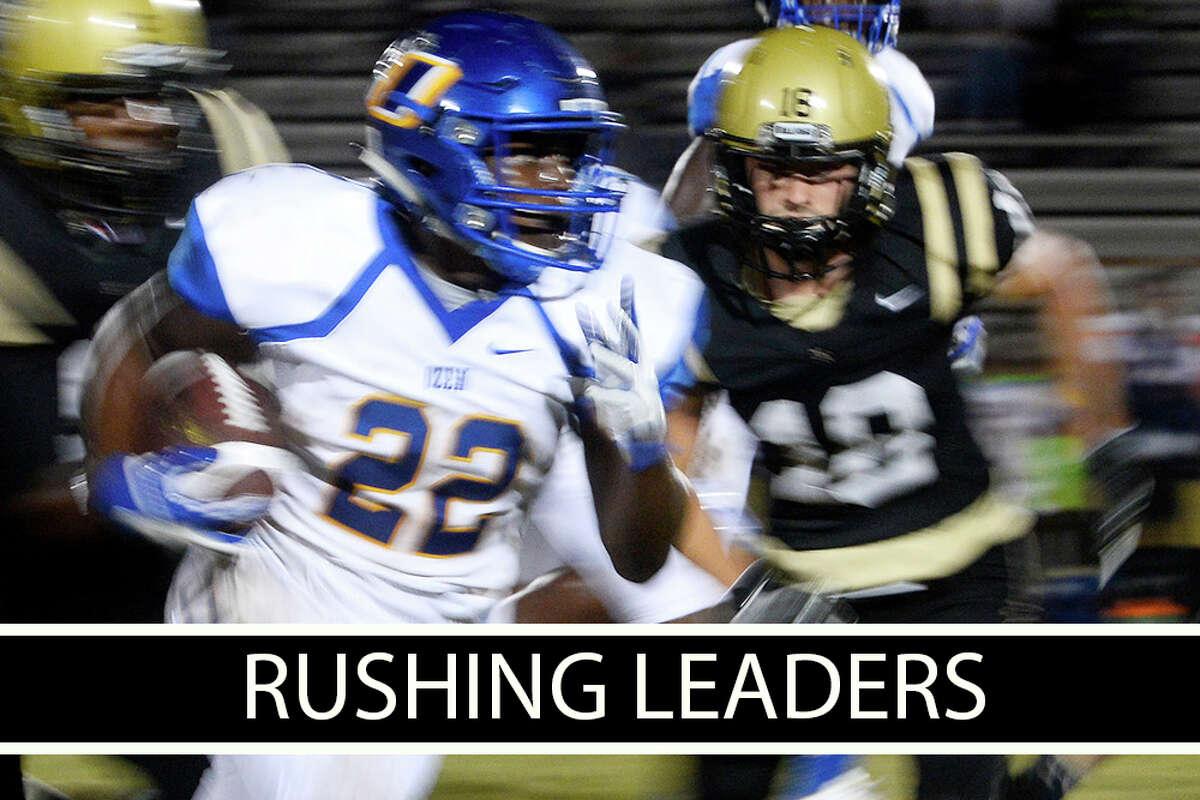 High School Football: Week 8 rushing leaders.