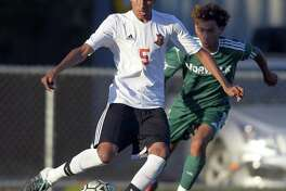 Stamford boys soccer hosts Trinity Catholic on Monday with the city title at stake.