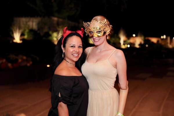 The San Antonio Botanical Garden and Blue Star Brewing Co. hosted Moonlight in the Garden of Good and Evil Saturday, Oct. 21, 2017, to celebrate the opening of the garden's new expansion.