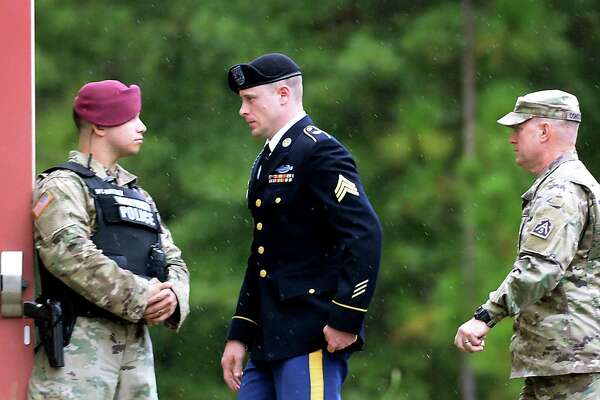 Sgt. Bowe Bergdahl pleaded guilty last week at Fort Bragg, N.C., to desertion and misbehavior before the enemy. He will be back in court today for a sentencing hearing.