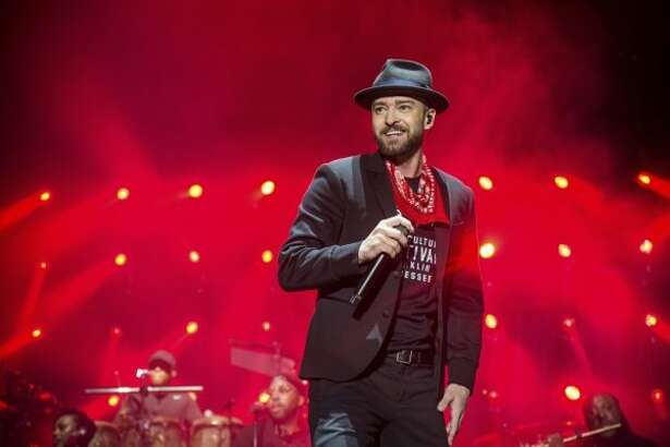 Justin Timberlake performs at the Pilgrimage Music and Cultural Festival on Saturday, Sept. 23, 2017, in Franklin, Tenn. (Amy Harris/Invision/AP)