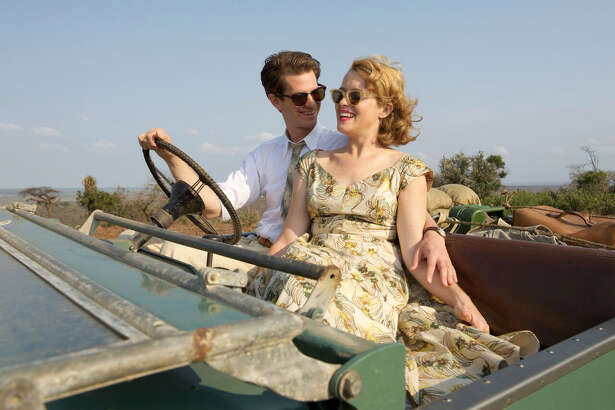 "Andrew Garfield and Claire Foy star as Robin and Diana Cavendish in ""Breathe."" MUST CREDIT: David Bloomer, Bleecker Street-Participant Media"