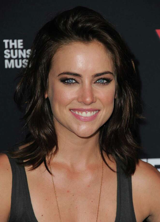 Jessica Stroup attends the Sunset Strip Music Festival VIP party at SkyBar on Friday, Aug. 17, 2012, in West Hollywood, Calif. (Photo by Jordan Strauss/Invision/AP) Photo: Jordan Strauss / Invision