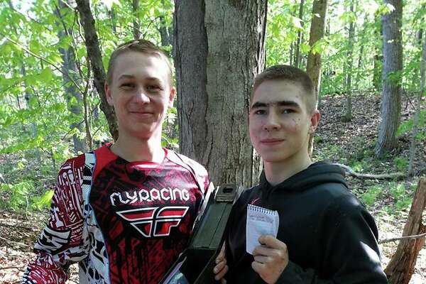 Logan Weiland, left, and Conor Bradshaw were best friends. (Submitted photo)