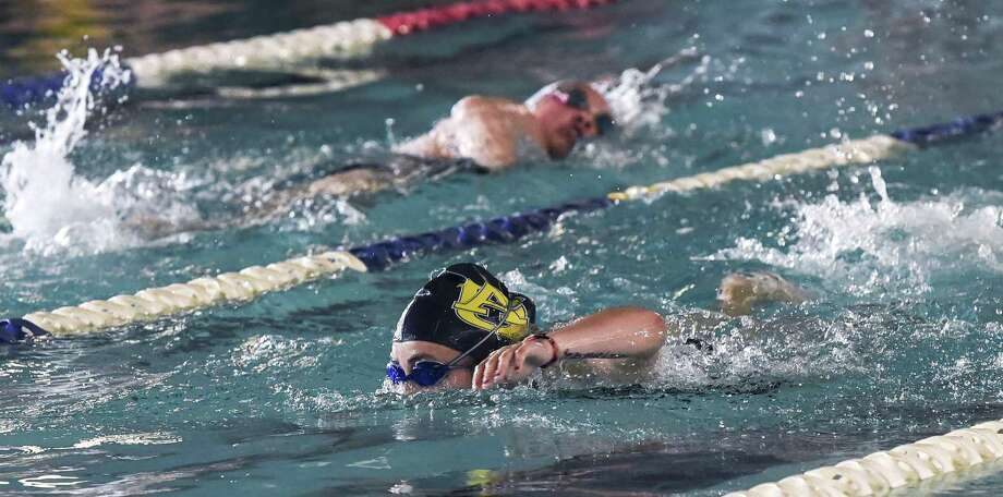 51 swimmers from Laredo advanced to the regional meet in two weeks after qualifying in the top-six spots in their individual races at the District 29-6A meet in San Antonio Saturday. Photo: Danny Zaragoza /Laredo Morning Times File