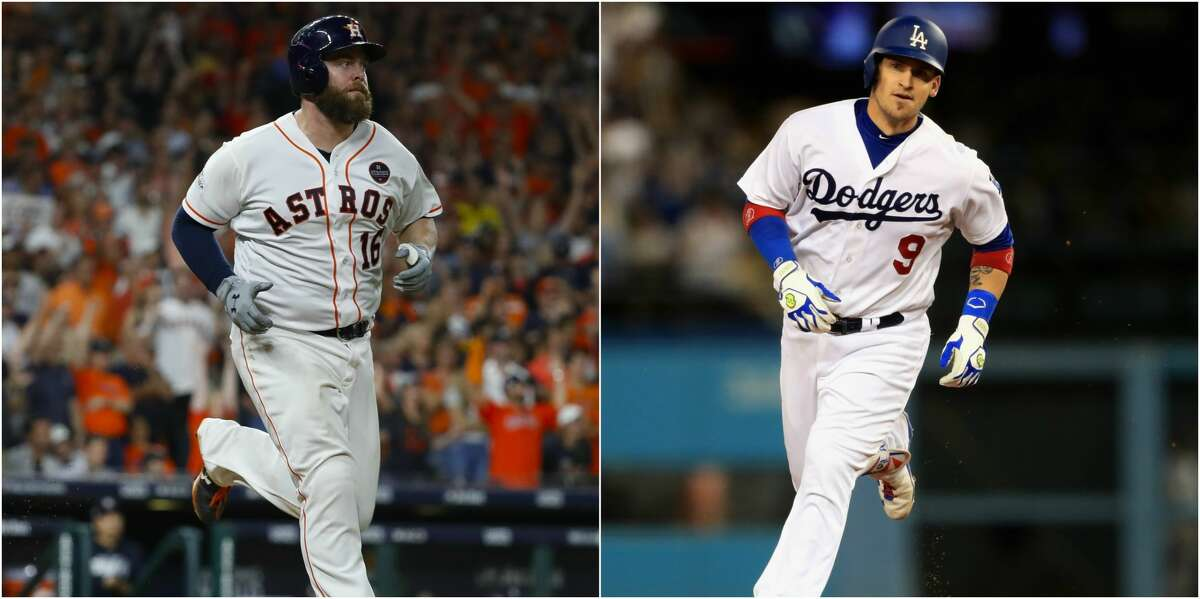 CATCHER Brian McCann (.241, 18 home runs) was huge for the Astros in the last two games of the ALCS, delivering a pair of big doubles to show he's still a bat to be reckoned with, and Evan Gattis homered to put them up 1-0 in Game 7. Offensively, the Dodgers have a comparable duo in Austin Barnes (.289/.408/.486) and Yasmani Grandal (22 home runs). Defense is the differentiating factor. The Dodgers finished atop the majors with plus-34 framing runs and threw out 29 percent of opposing base stealers. The Astros were the worst team in the majors at nabbing base stealers, catching only 12 pecent. Edge: Dodgers