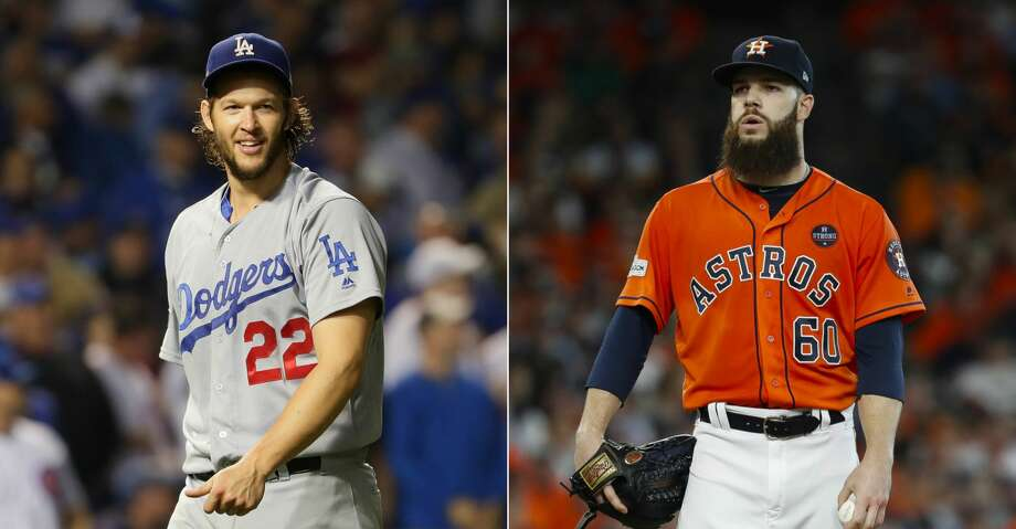 STARTING PITCHINGDodgers starters led the majors this year with a 3.39 ERA and 1.15 WHIP, while the Astros were sixth in each (4.03 and 1.26), but keep in mind L.A. has a more pitcher-friendly home park. Yes, Clayton Kershaw (18-4, 2.31 ERA) is the best pitcher of his time, but we can see Game 1 opponent Dallas Keuchel making himself at home in Dodger Stadium. And Justin Verlander, the game's best pitcher since the All-Star break, mowed down L.A. in an Aug. 20 start for Detroit, allowing one run, two hits and one walk in eight innings. Rich Hill, Yu Darvish and Alex Wood are solid for L.A., but Charlie Morton and Lance McCullers Jr. are no slouches.Edge: Astros Photo: AP/Getty