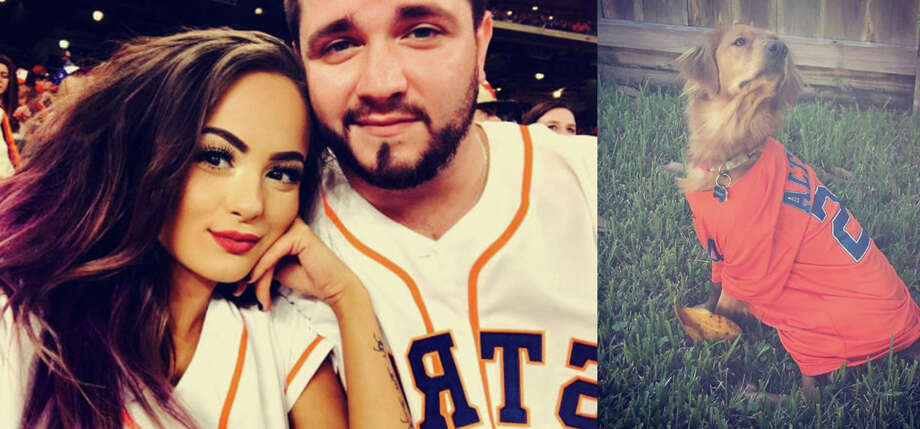 Houston Astros fans haven't stopped celebrating as the club prepares for its World Series matchup against the Los Angeles Dodges. Photo: Instagram