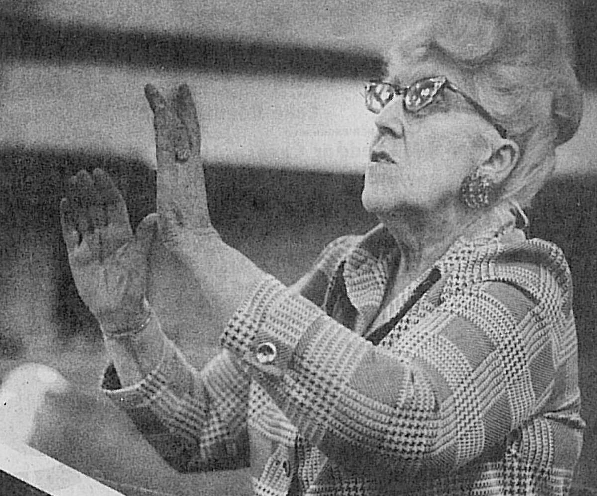 Kathryn Gutekunst served as the first director for The Conroe Chorale from 1972 to 1979.
