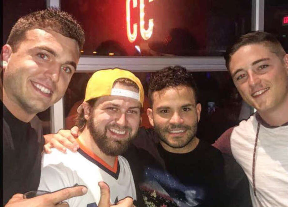 PHOTOS: See how the Astros players celebrated through pictures on their personal Instagram pagesJose Altuve and several Astros players celebrate their trip to the World Series by having an afterparty at Concrete Cowboy on Saturday night.Browse through the photos above for a look at how the Astros celebrated through their personal Instagram pages. Photo: Instagram