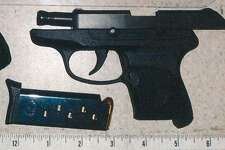 This handgun was found in carry-on luggage Friday at the Albany International Airport checkpoint.