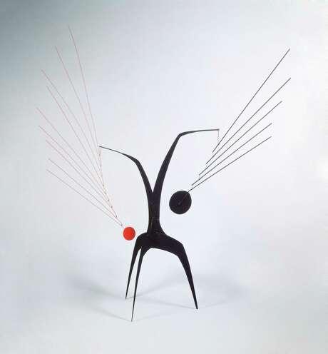 Un effet du japonais, 1941. Alexander Calder.© 2017 Calder Foundation, New York / Artists Rights Society (ARS), New York Photo: Calder Foundation