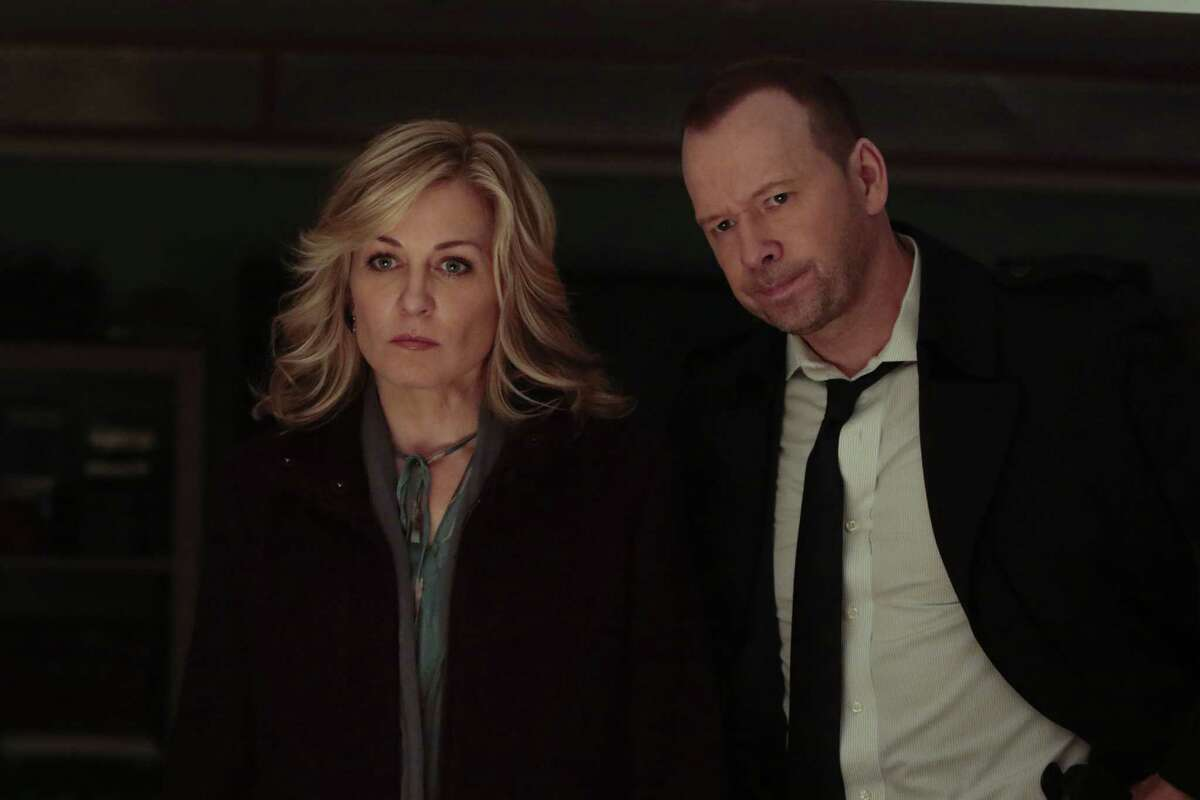 """Fans of """"Blue Bloods"""" found out on the Season 8 premiere that Linda Reagan (Amy Carlson), wife of lead character Det. Danny Reagan (Donnie Wahlberg), had died in a helicopter accident."""