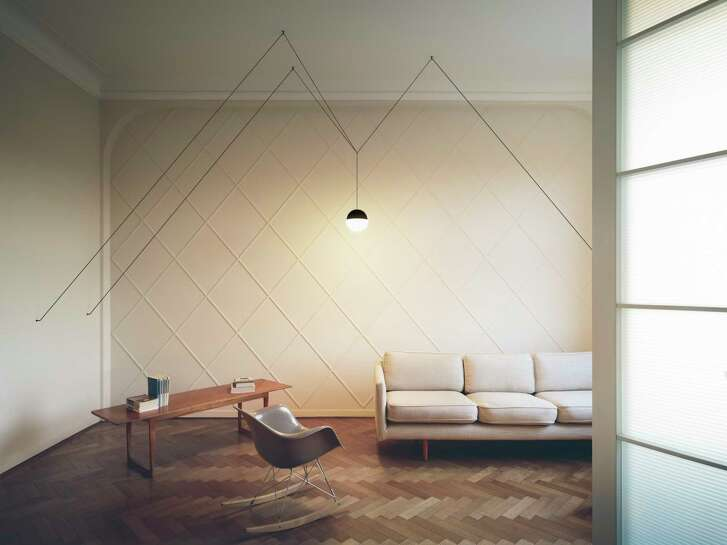 String Lights, created by designer Michael Anastassiades, allows owners to create their own unique designs with the strings.