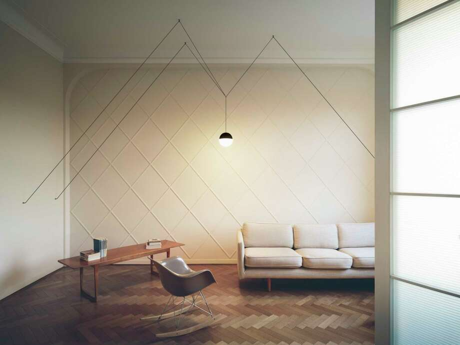 String Lights, created by designer Michael Anastassiades, allows owners to create their own unique designs with the strings. Photo: Beppe Brancato