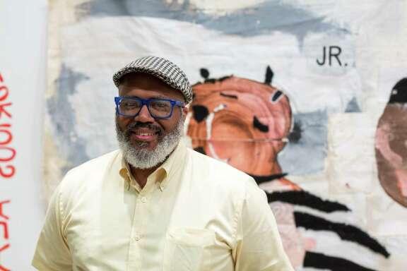 Trenton Doyle Hancock was designated the 2017 Texas Artist of the Year by Art League Houston.