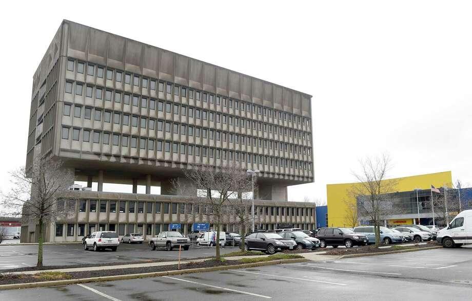 (Peter Hvizdak - New Haven Register) The Perelli building, Wednesday, January 18, 2017. Photo: Peter Hvizdak / ©2017 Peter Hvizdak / ©2017 Peter Hvizdak