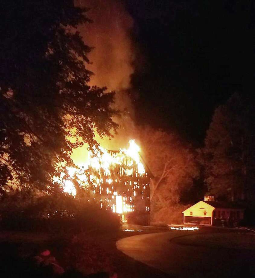 A 200 Year Old Barn Was Destroyed In Fire On South Avenue Sunday