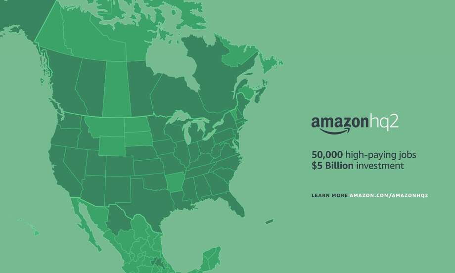Amazon received more than 200 bids to host its second North American headquarters after it announced an request for proposals in September 2017. Photo: Amazon